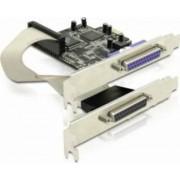 Placa PCI Express Delock la 2 porturi paralel