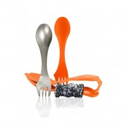 Light My Fire Ultimate Spork Kit Set Tacamuri + Suport