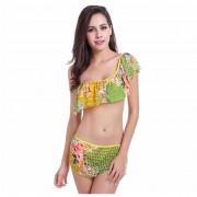 Vestidos De Baño Para Mujer Ropa De Playa Bikini Un Hombro Tops Y Braguitas