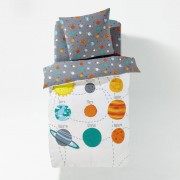 La Redoute Interieurs Bettbezug PLANETES aus Baumwolle