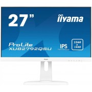 "IIYAMA 27"" iiyama XUB2792QSU-W1 - IPS,WQHD,5ms,350cd/m2, 1000:1,16:9,DVI,HDMI"