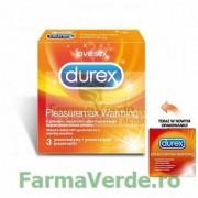 Durex Pleasuremax Warming Prezervative 3 bucati