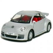 Kinsmart 1:32 Scale Volkswagen New Beetle RSI, Silver