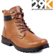29K Men's Tan Lace-up Boot