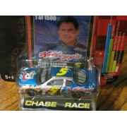Racing Champions 2002 Chase The Race 1:64 Collectors Series #5 Terry Labonte 1 Of 1500 Chrome Chase Car