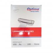 Folie laminare Optima A4 100 microni 100buc/top OP75004100