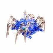 Joc de constructie MalPlay Robot Paianjen electonic albastru 10 ani +