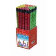 Display creion grafit HB cu guma 72 buc Faber-Castell