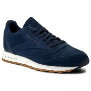 Обувки Reebok - Cl Leather Sg BD6015 Collegiate Navy/Chalk Gum