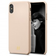 Husa Spigen La Manon Calin Iphone Xs Max Pale Pink