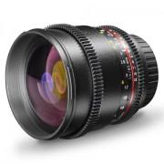 Walimex Pro - VDSLR, Obiettivo foto e video 85mm, f/1,5 per fotocamera Sony E-Mount/NEX