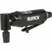 Klutch 1/4 Inch 90° Air Mini Die Grinder - 20,000 RPM, Angle Head, 4 CFM