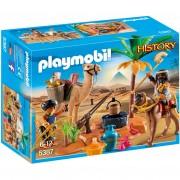 Playmobil History Egyptian Tomb Raiders' Camp (5387)