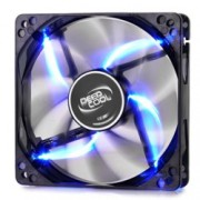 Вентилатор 120mm, DeepCool WIND BLADE 120, 3-пинов, 1300rpm, Blue LED