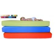 CE Baby Cubre Colchón de Cuna Transpirable e Impermeable en Colores medida de 070x140,color Turquesa-26