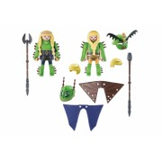 Figurine Playmobil - Playmobil and ndash Raffnut Si Taffnut In Costume De Zbor How to train your Dragon