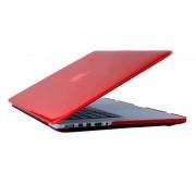 Apple MacBook Pro 13.3 inch (A1706 & A1708 - 2016 versie) Kristal patroon beschermende Cover (rood)
