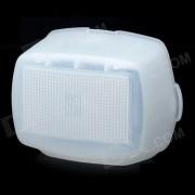 Difusor de Flash para Nikon SB-900 / Oloong SP-660/690-SP / SP-680 Speedlight - Blanco