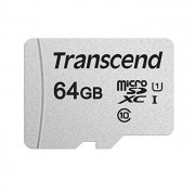 Micro SDHC card (64GB class 10) TRANSCEND PREMIUM Speed 95Mb/s