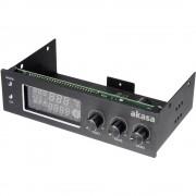 """Upravljač ventilatora Akasa13,3 cm (5.25"""") s ekranom i alarmom"""