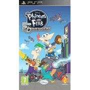 Phineas & Ferb Across The Second Dimension Psp