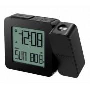 Ceas wireless Oregon Scientific cu proiectie cu termometru interior-negru