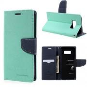 Mercury Pouzdro / kryt pro Samsung Galaxy S8 PLUS - Mercury, Fancy Diary Mint/Navy