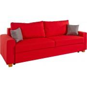 HOME AFFAIRE bedbank »Merano«, met bedkist en binnenveringsinterieur