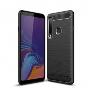 Carcasa TECH-PROTECT TPUCARBON Samsung Galaxy A9 (2018) Black