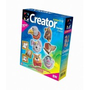 Set de mulaj ipsos Creator - Magneti cu animale de la circ - Elf Market