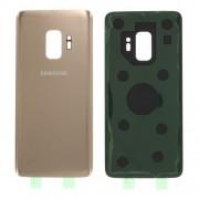 Capac Baterie Spate Cu Adeziv Sticker Samsung Galaxy S9 SM G960 Auriu