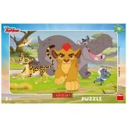 Puzzle clasic pentru copii - The lion King 15 piese
