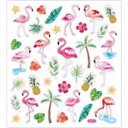 Geen Tropische vogels en deco stickers 37 stuks