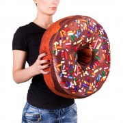 Gigantisk Donut Kudde