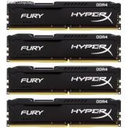 Kingston HX426C15FBK4/16 Hyper-x Fury 16GB(4Gb x 4) DDR4-2666