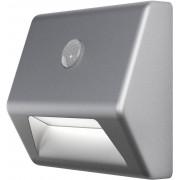 Lampă de veghe led alb-neutru cu detector de mişcare Ledvance Nightlux Stair rectangular argintiu