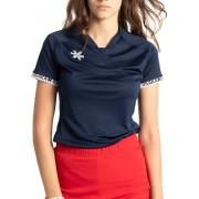 Osaka Jersey Shirt Dames - Shirts - blauw donker - L