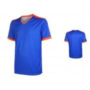 Holland VSK Fly Voetbalshirt Eigen Naam Blauw-Oranje - L