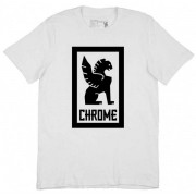 Chrome Large Lock Up Tee Men