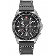 Ceas barbatesc Swiss Military Hanowa 06-4225.04.007 Crusader Chrono 43mm 10ATM