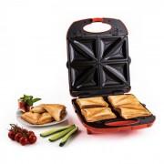 TRINITY 3 в 1 сандвич тостер XXL 1300W червен
