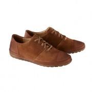Franz Gustav Kalbleder-Sneaker, 45 - Cognac