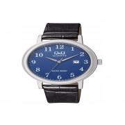 Reloj Clásico De Cuero Q&Q BL62J315Y-Gris