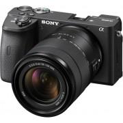 Sony Aparat Foto Mirrorless Kit Alpha A6600 24.2 MP cu Obiectiv 18-135mm 4K Negru