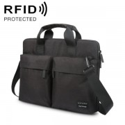 RFID skyddad väska med axelrem - 15,6 tum