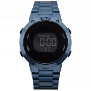 Relógio Euro Fashion Fit Azul Feminino EUBJ3279AC/4A