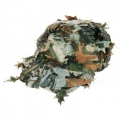 Al aire libre Proteccion UV Guerra CS Juego Jungle Camo Leaf Cap - Camuflaje