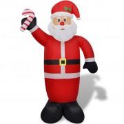 vidaXL Надуваем Дядо Коледа 240 см