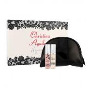 Christina Aguilera Mini Set confezione regalo Eau de Parfum Christina Aguilera 10 ml + Eau de Parfum Christina Aguilera By notte 10 ml + borsa per cosmetici donna