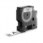 Etichete autocolante DYMO LabelManager D1 nailon flexibil 19mm x 3.5m negru alb 16958 S0718050